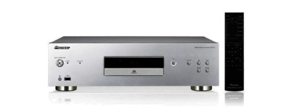 Pioneer PD-10-K - CD / SACD Player und Front USB - silber