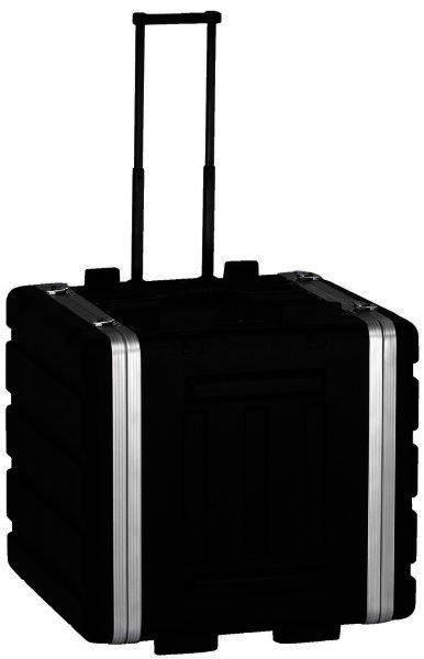 MR-108T Hartschalen-Flightcase 7HE, 482mm, rollbar