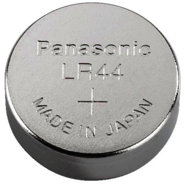 Knopfzelle Alkali Mangan-1Stk. Blister Panasonic - AG13, LR44, LR1154, V13GA Ersetzt folgende Zellen