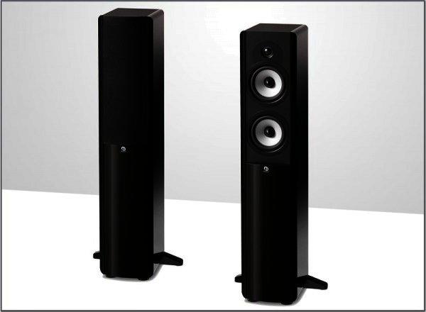 Boston Acoustics A250 Stand-Lautsprecher 2 Wege Schwarz Paar