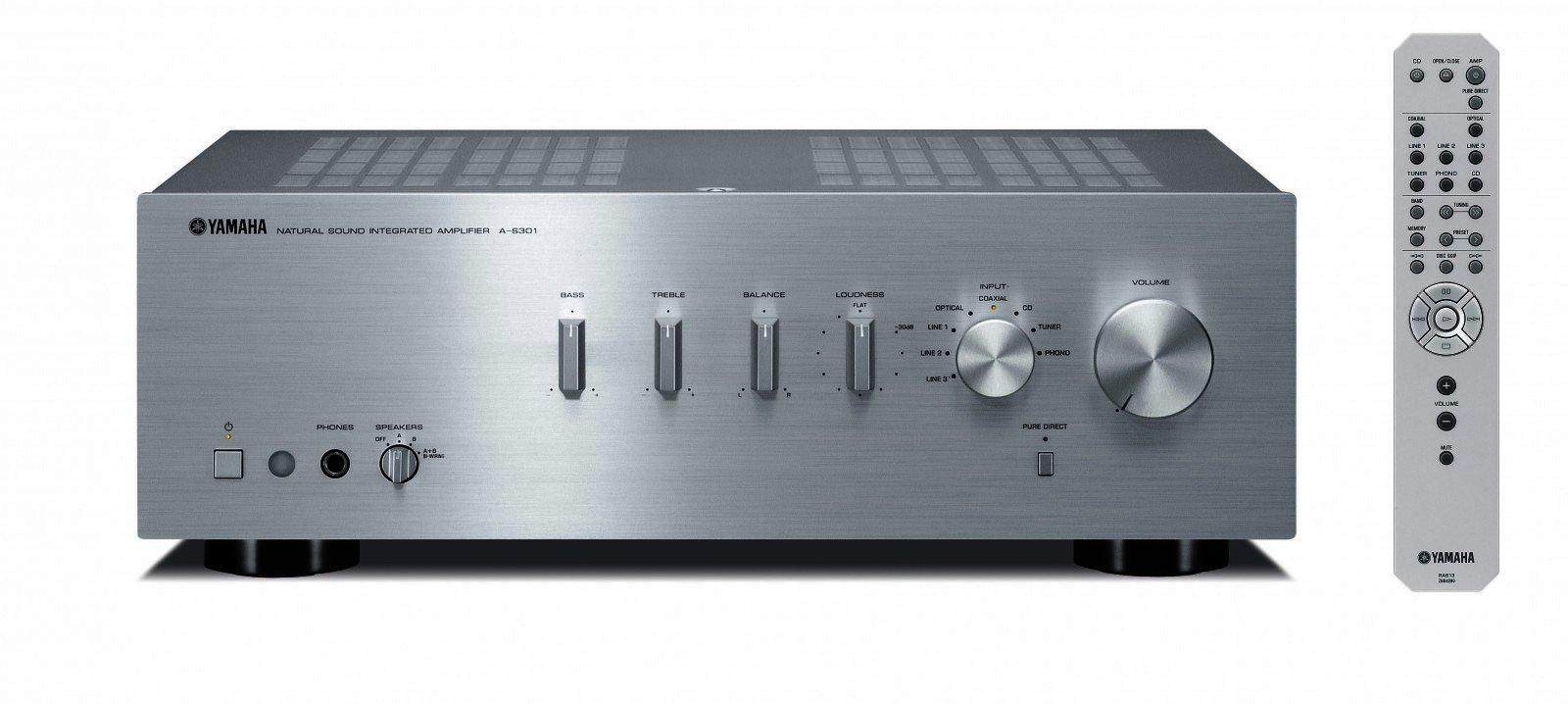 yamaha a s301 stereo verst rker vollverst rker hifi. Black Bedroom Furniture Sets. Home Design Ideas