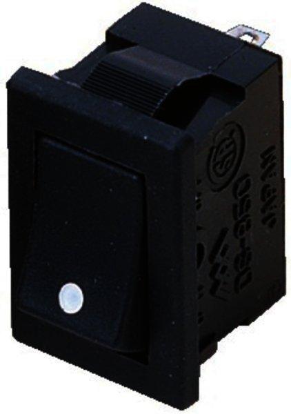 DS-850 - Wippschalter, 1-polig, EIN/AUS, 250V - 3A
