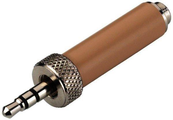 NTA-2SE 3,5mm Stereo Klinkenstecker auf 2,5mm Kupplung