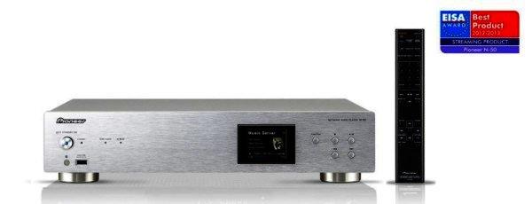 Pioneer N-50-S - Netzwerk Audio Player mit USB DAC - silber