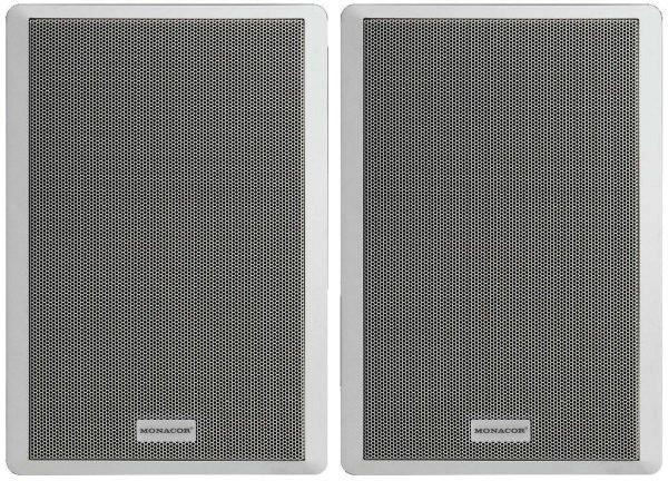 SMB-130/WS - Ultra-Flachlautsprecher Boxen, Paar, 40 Watt