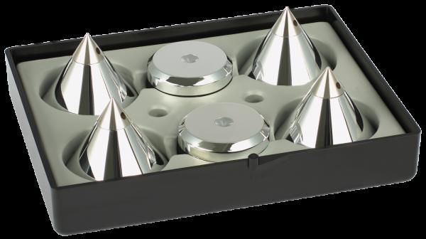 Audio Selection Kegel und Disc 4er Set