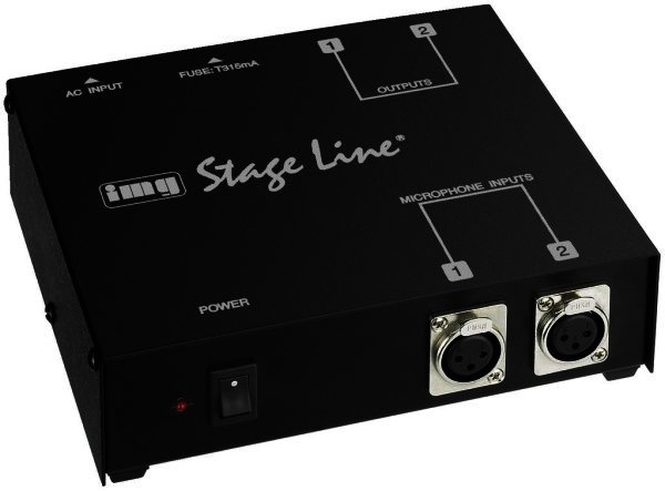 EMA-200 48V Phantomspeisung 2 Elektret-Mikrofone XLR