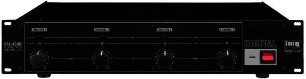 STA-450D - 4-Kanal-Digital-Verstärker 300WMAX ~ 4x50WRMS