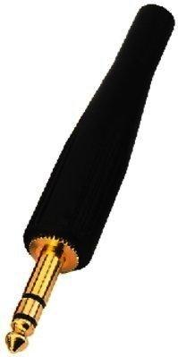 T-220/SW - 6,3mm Stereo Klinkenstecker schwarz