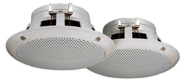 SPE-230/WS Einbaulautsprecher Loch Ø 110mm x 50mm, weiß