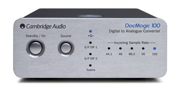 DacMagic 100 Cambridge Audio - D/A Wandler mit USB bis 192kHz