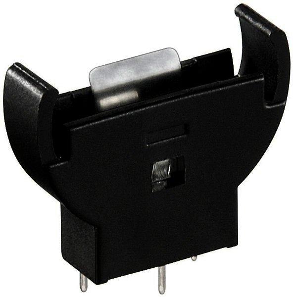 Knopfzellen-Halter Vertikal (stehend) PCB-Version passend für Zellen mit einem max. Durchmesser von