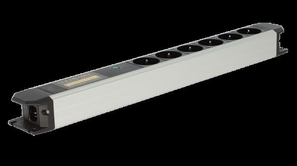Goldkabel Powerline Flex Hifi Netzleiste mit Vollschutz 6-fach