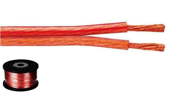 SPC-125 - Lautsprecherkabel 2x2,5mm² - 100 Meter