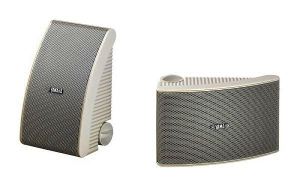 Yamaha NS-AW392 Outdoor-Lautsprecher Weiss Paar
