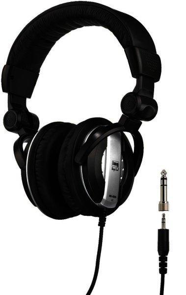 MD-4800 - DJ-Stereo-Kopfhörer, geschlossenes System, 3,5mm und 6,3mm Klinke