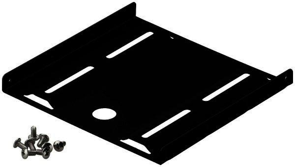 2,5 Festplatten-Einbaurahmen auf 3,5 zum Einbau von HDD- / SSD-Festplatten Mit diesem Montage-Set