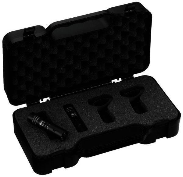 ECM-250 - Elektret Mikrofon-Set 2x Overhead Mikrofon