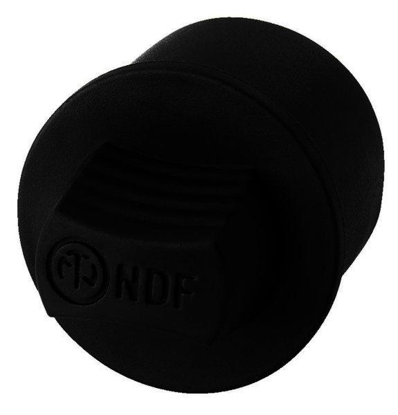 NDF-1 - Staubschutzkappe für XLR-Einbaubuchsen schutz vor Staub, Schmutz, Feuchtigkeit oder Falschve