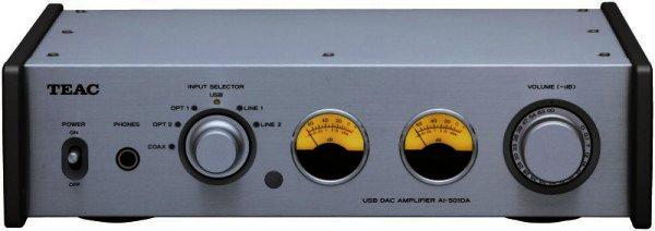 AUSSTELLER TEAC AI-501DA - Verstärker mit 192 kHz USB Eingang - silber
