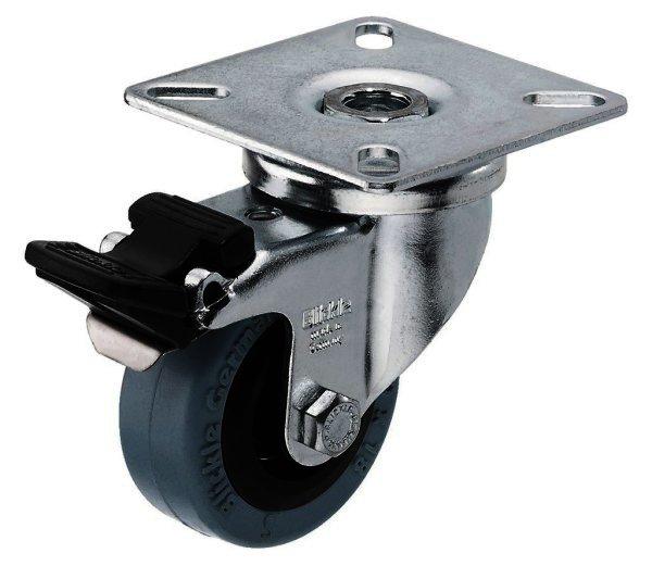 GCB-50B Lenkrolle mit Bremse bis 40kg, Blickle