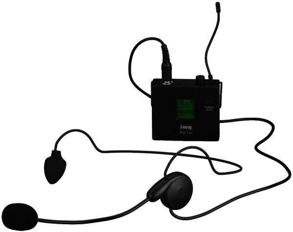 TXS-81SX - Kopfbügel Mikrofonsender, Funkmikrofon, 863-865 MHz, mit Mikrofon