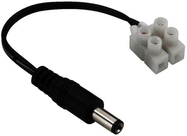Stromversorgung Anschlusskabel Stecker Ø5,5/Ø2,1mm