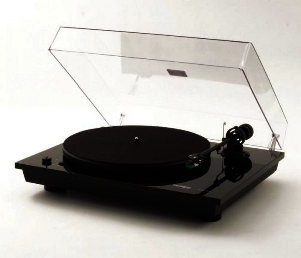 Thorens TD 295 MK IV - Halbautomatischer Plattenspieler - Klavierlack schwarz