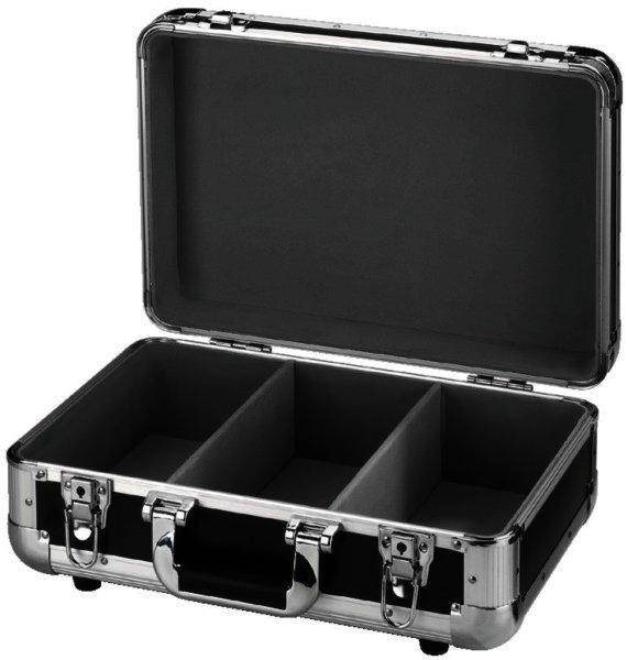 DJC-8/SW - CD Case Transportkoffer für ca. 80 CD´s