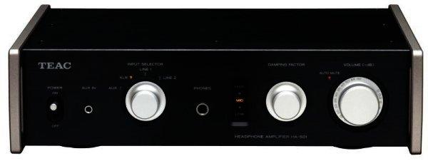 TEAC HA-501 Kopfhörerverstärker High End - schwarz