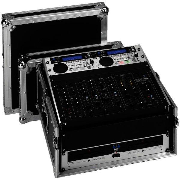 MR-104DJ Flightcase zum Einsetzen von 482-mm-Geräten