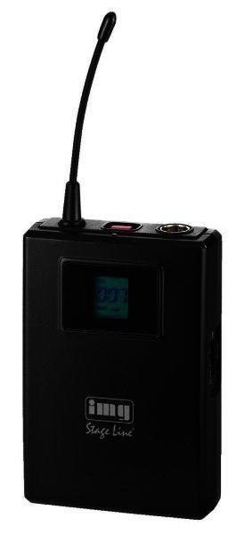 TXS-900HSE Mikrofonsender E-Band 823-832 MHz + 863-865 MHz 3polig XLR Anschluss