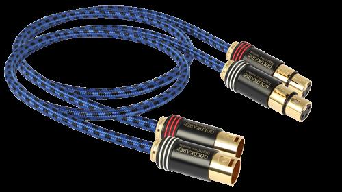 Goldkabel XLR Stereo Kabel MKIII – Highline Series