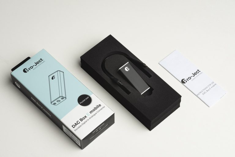 Pro-Ject DAC Box E mobile Schwarz