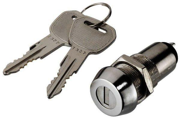 NS-30 - Schlüsselschalter Schaltkontakt 1xEIN, 150V/3A