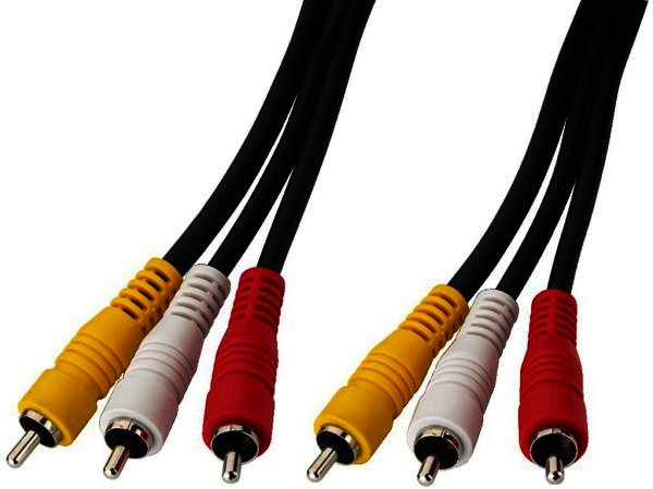 VC-321 - AV-Verbindungskabel 3x Cinch rot/weiß/gelb - 3 Meter