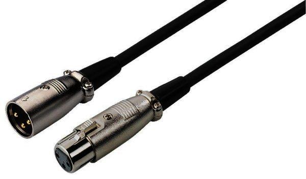 MEC-20/SW - XLR-Kabel - DMX / Mikrofon - 6m schwarz