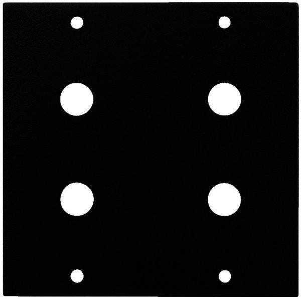 RSP-24RCA Rackblende für 4 x Cinch-Einbaubuchse