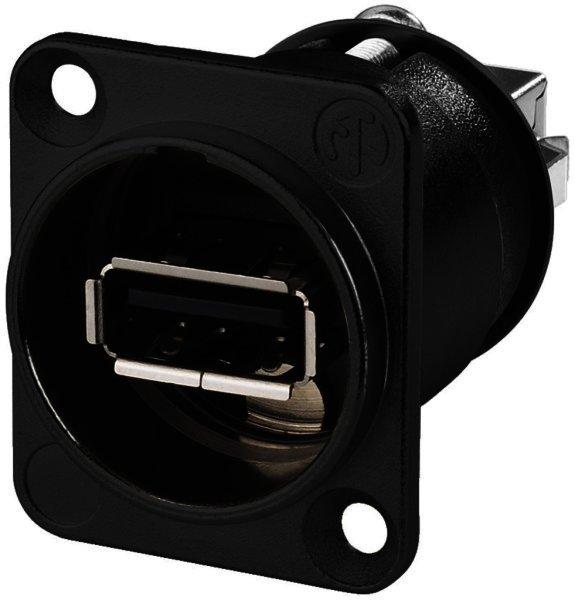 NAUSBWB - USB-Durchgangs-Einbaubuchse