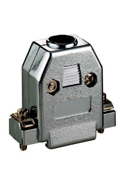 SUB-D-Hauben 9-polig, Kunststoff metallisiert