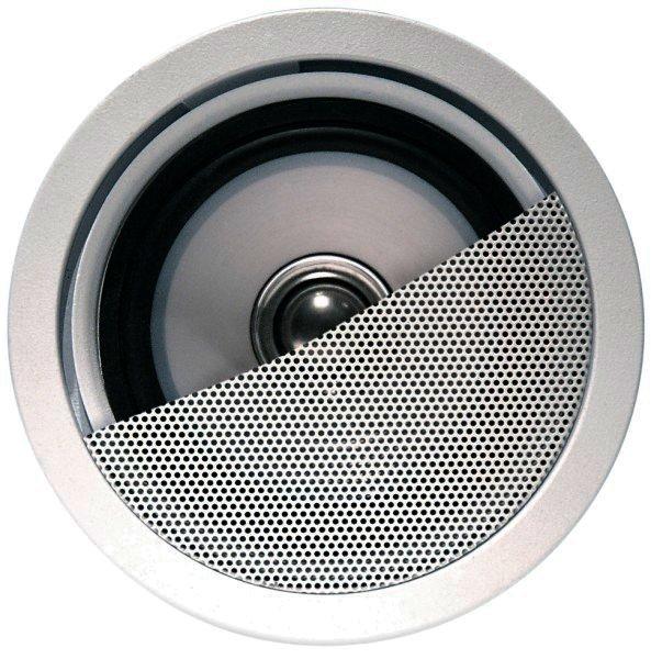 KEF Einbaulautsprecher Ci80.2QR - 2 Wege Uni-Q Lautsprecher - Weiß