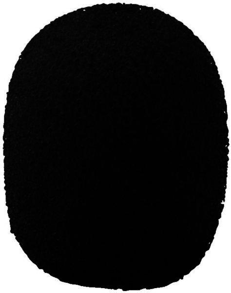 WS-150/SW - Mikrofon-Windschutz, 4 Stück schwarz für Mi