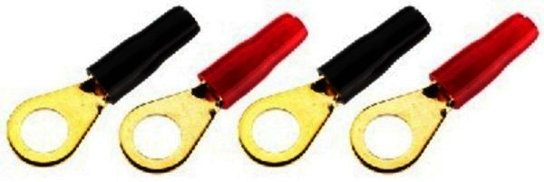 MFC-46R - Ring-Kabelschuhe 8,4mm, bis 6mm² - 4 Stück