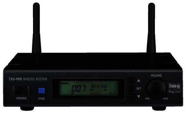 TXS-900 - Empfänger für Funkmikrofone 823-832 MHz + 863-865 MHz