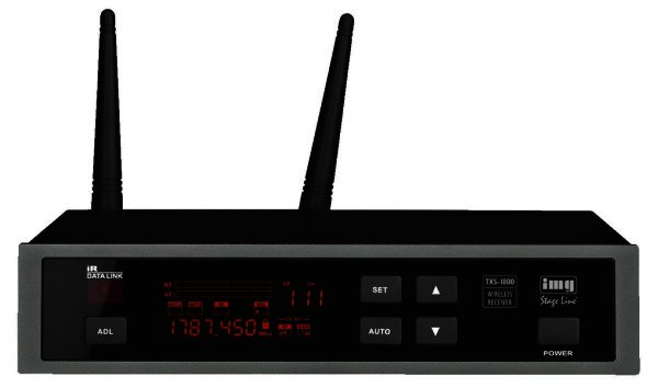 TXS-1800 - Empfänger für Funkmikrofone mit 1,8 GHz, XLR und 6,3mm Klinke Ausgang
