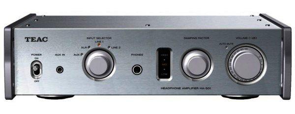 TEAC HA-501 Kopfhörerverstärker High End - silber