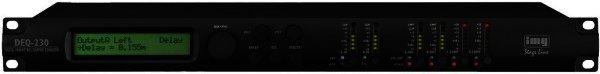 DEQ-230 - Digitaler parametrischer / grafischer Equalizer - 2x30 Band Stereo