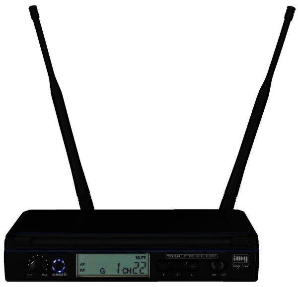 TXS-855 - 1 Kanal Empfänger für Funkmikrofone, Taschensender, REMOSET, 506-542 MHz