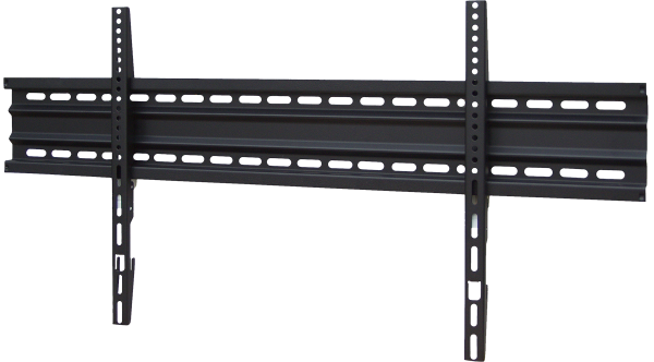 Black connect tv wandhalterung slim mount 840 75 zoll - Tv wandhalterung 75 zoll ...
