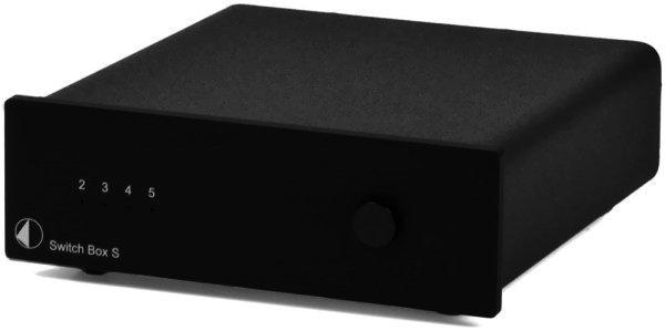 Pro-Ject Switch Box S - erweitert die Anschlussmöglichkeiten